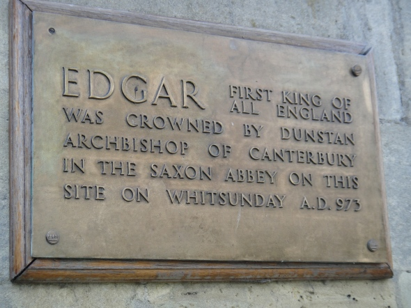 Placa na Bath Abbey