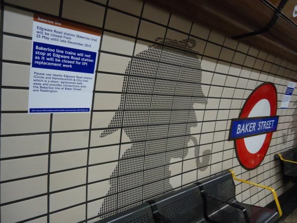 Baker Street Underground Station, Bakerloo Line